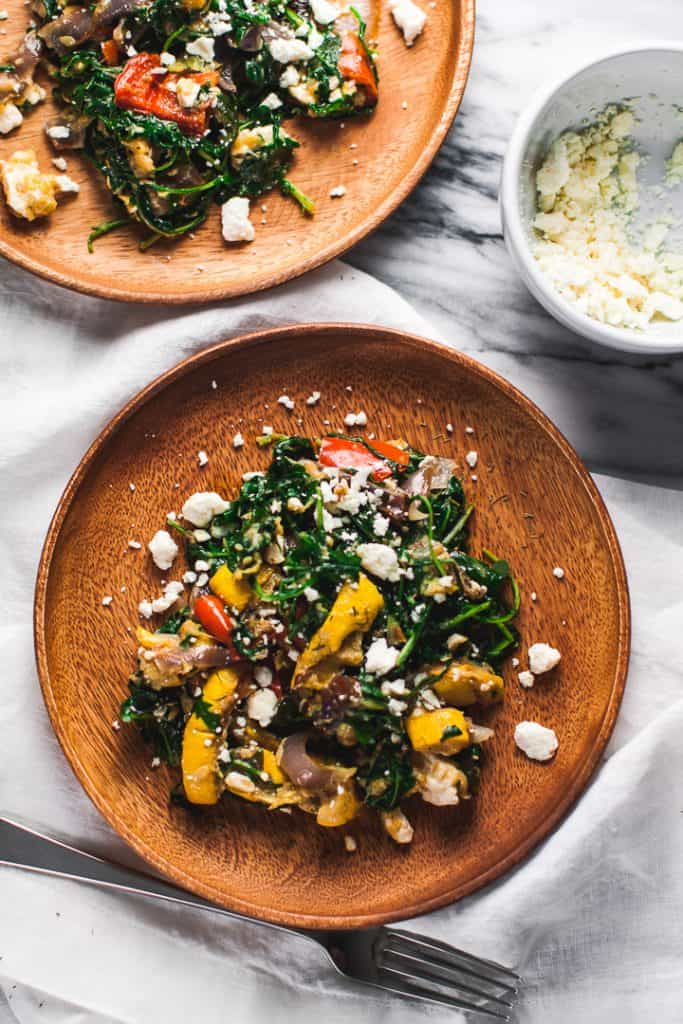 arugula salad with feta