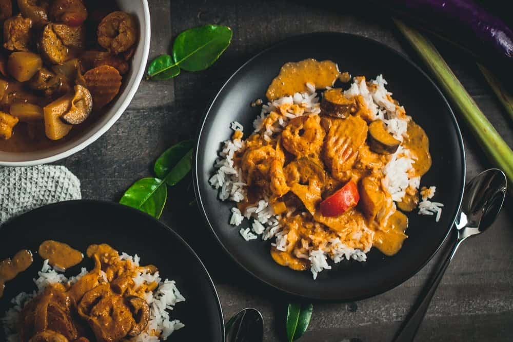 takeout thai curry