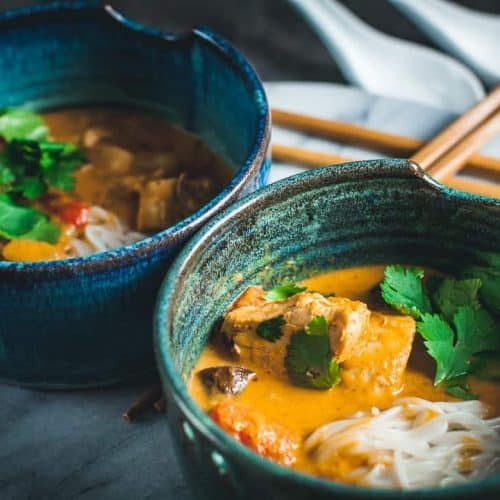 easy thai coconut curry soup