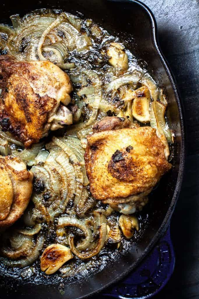 roasted cumin chicken and rice