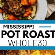 pin for whole30 instant pot mississippi pot roast