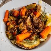 bowl of mississippi pot roast