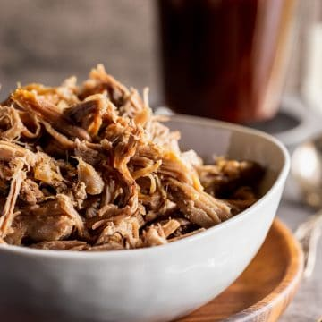pulled pork with bbq sauce