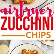 pin for air fryer zucchini chips