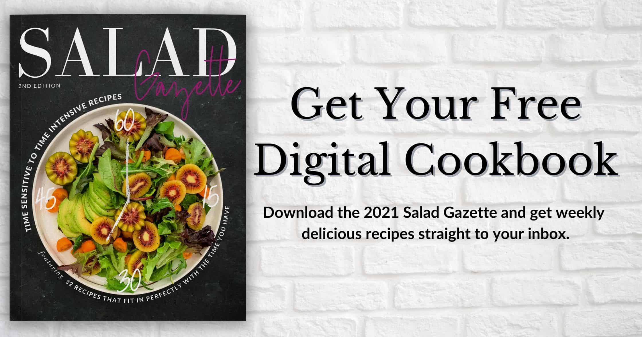 get your free digital cookbook, download